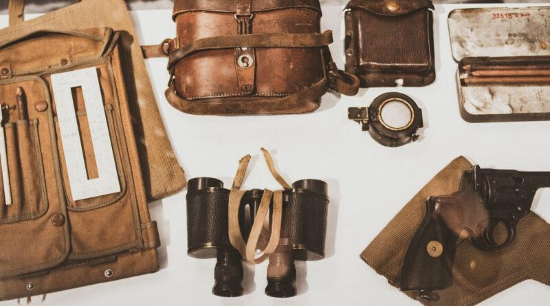 accessoires et vêtement des années 50